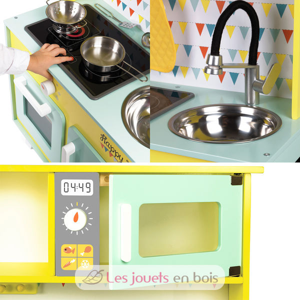 Happy Day Big Cooker Janod 6564 Wooden Kitchen Made By Janod