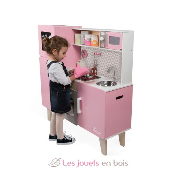 Macaron Maxi Cooker Janod 6571 Wooden Kitchen Made By Janod