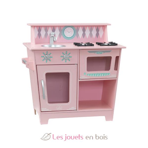 Kidkraft 53383 Pink Classic Kitchenette A Wooden Kitchen For Kids