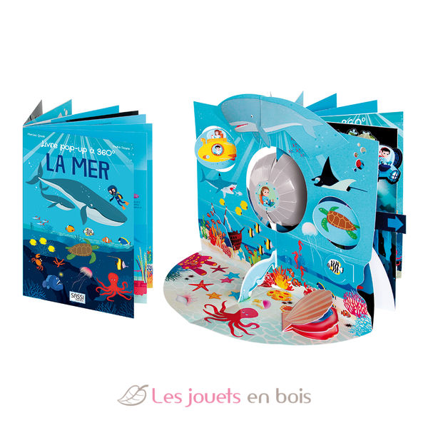 360 Pop Up Book The Ocean
