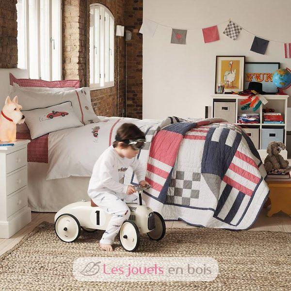 bearing race car white metal white vilac a holder ref 1102. Black Bedroom Furniture Sets. Home Design Ideas